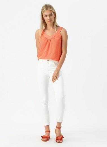 Beymen Studio Beymen Studio Beyaz Pantolon Beyaz